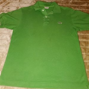 LACOSTE CLASSIC MENS POLO SZ 3/SMALL IMMACULATE